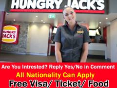 Hungry Jack's Hiring Crew Member in Australia