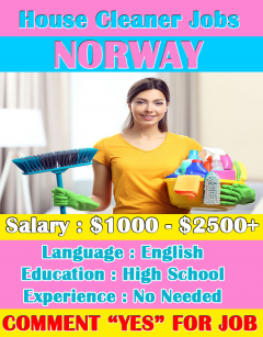 House Cleaner Jobs in Norway