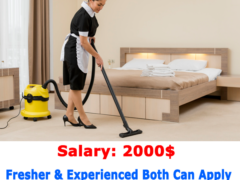 Hotel Cleaning Jobs in CANADA | Urgent 2021|