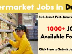 Supermarket jobs in Dubai| Urgent 2021 Apply Now