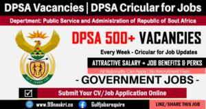 DPSA Vacancies
