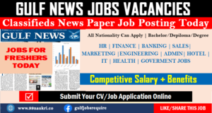 Dubai Jobs News Paper