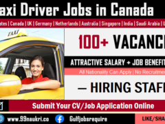 Taxi Driver Jobs in Canada