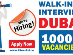 Walk-in-Interview Dubai Jobs Today & Tomorrow 1000+Jobs