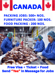 Packing Jobs in Canada