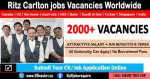 Ritz Carlton jobs