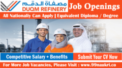 DUQM Refinery Jobs