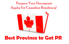 Easiest Province to Get PR in Canada