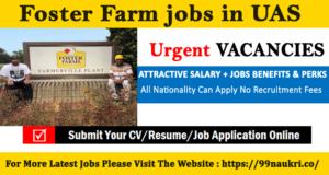 Foster Farm jobs