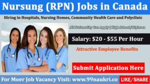 RPN Jobs Toronto   Nursing Jobs in Canada 200+
