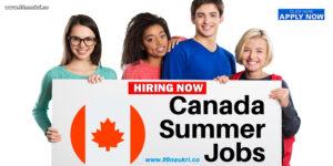 Summer Jobs in Canada